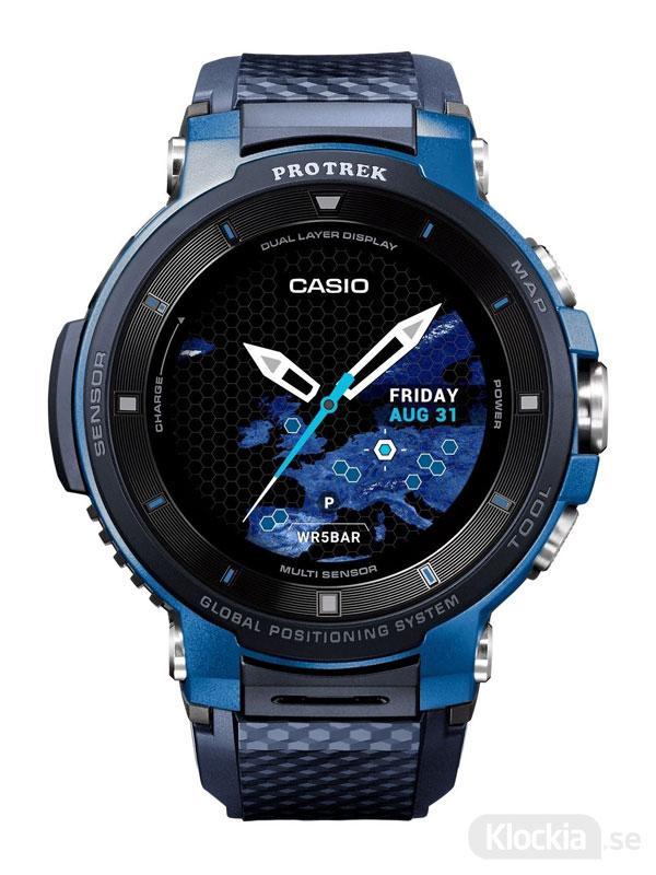 CASIO Pro Trek Smart Watch WSD-F30-BUCAE