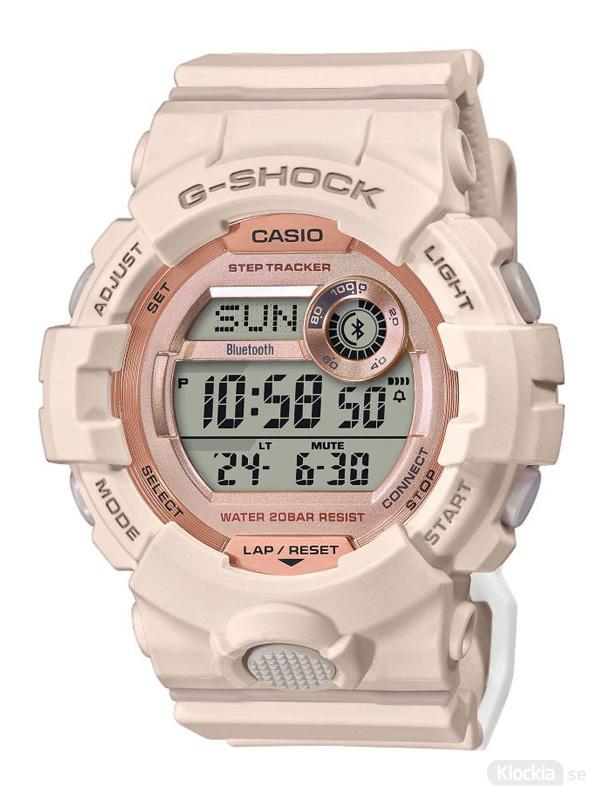 Damklocka CASIO G-Shock Step Tracker Bluetooth GMD-B800-4ER