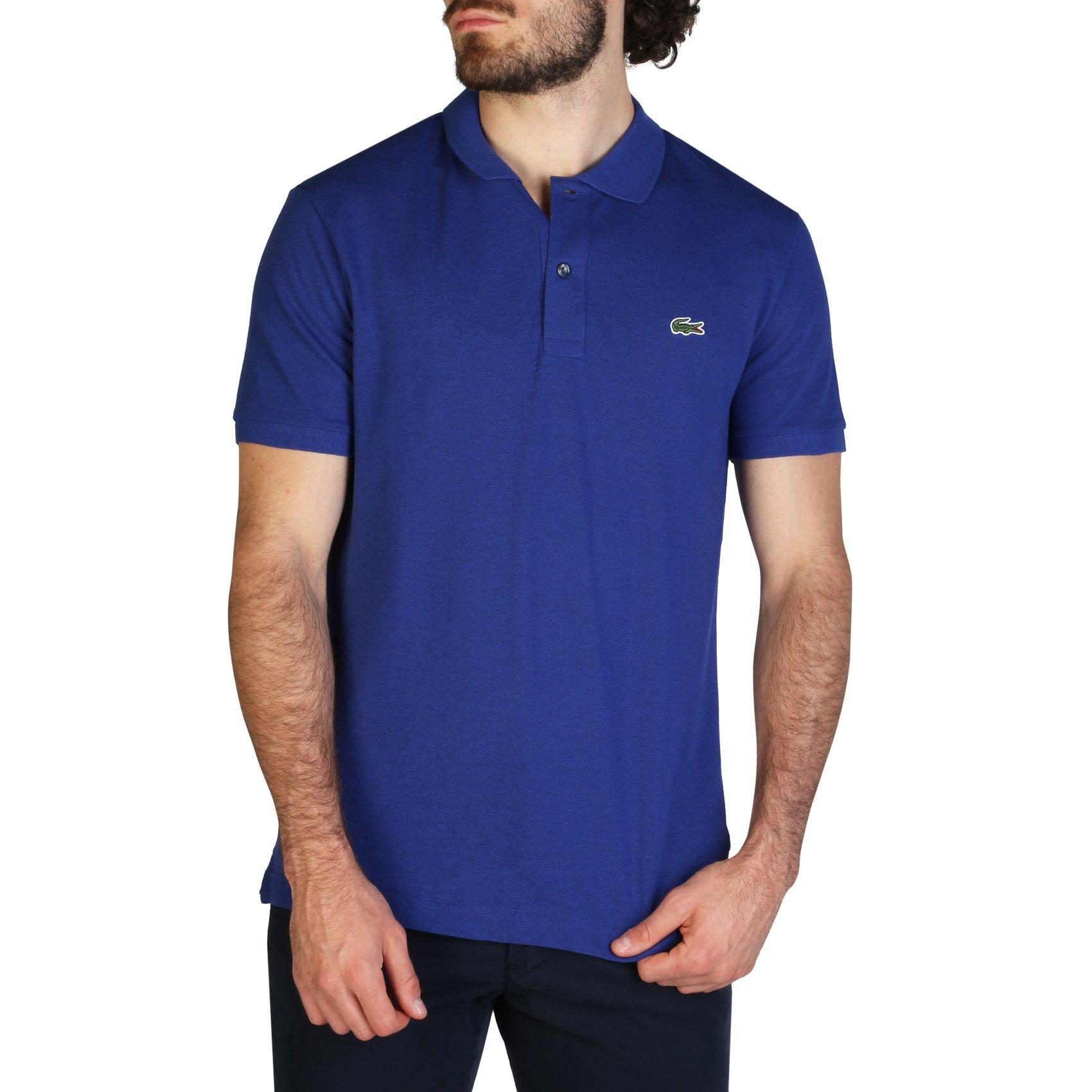 Lacoste Men's Polo Shirt Various Colours PH4012_SLIM - blue-4 S
