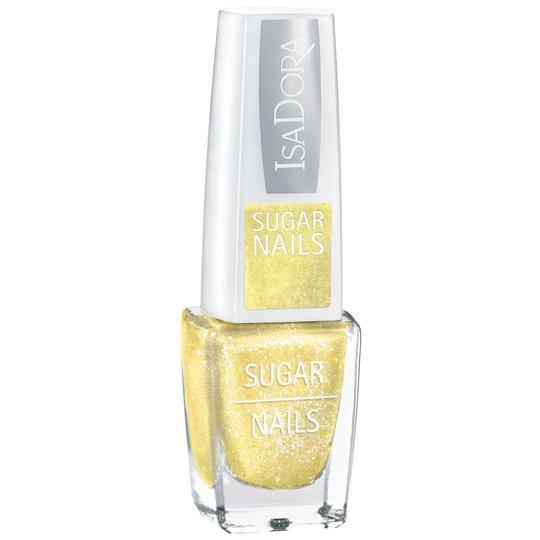 IsaDora Sugar Crush Nails, 131 Lemon Soda, 6 ml IsaDora Efektilakat