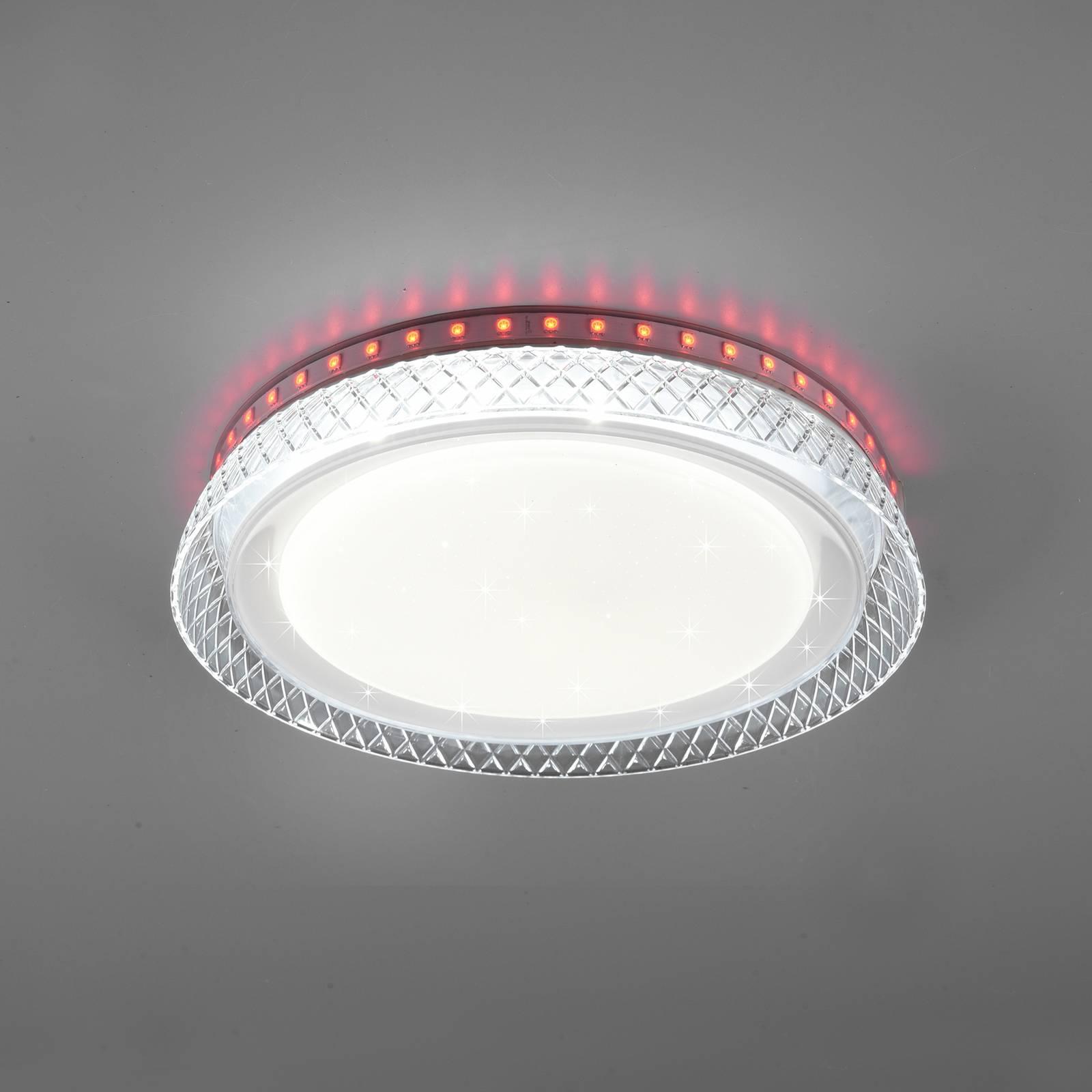 LED-kattovalaisin Thea, RGB, CCT, himmennettävä