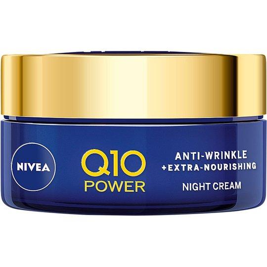 Q10 Extra Nourishing Night Cream, 50 ml Nivea Kasvovoiteet