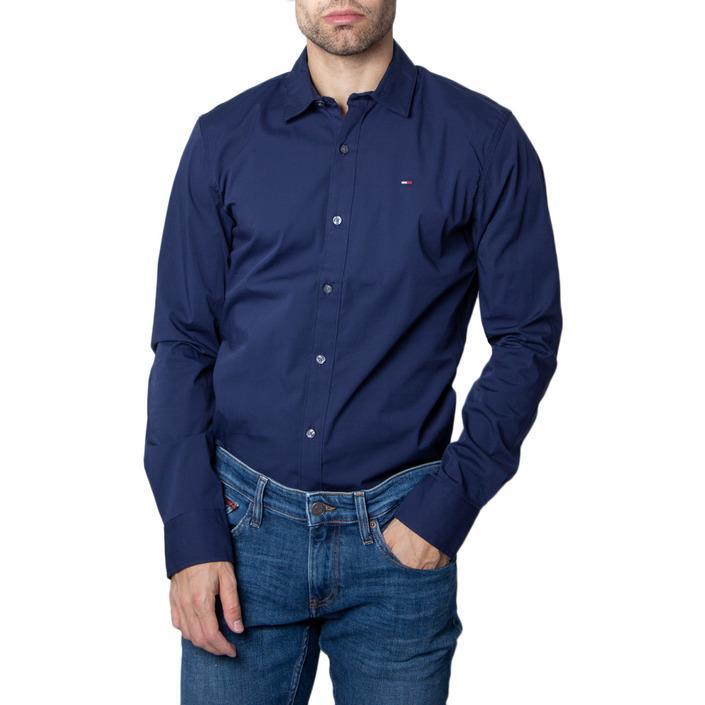Tommy Hilfiger Men's Shirt Blue 280683 - blue 3XL