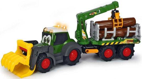Dickie Toys Happy Traktor Skogsmaskin