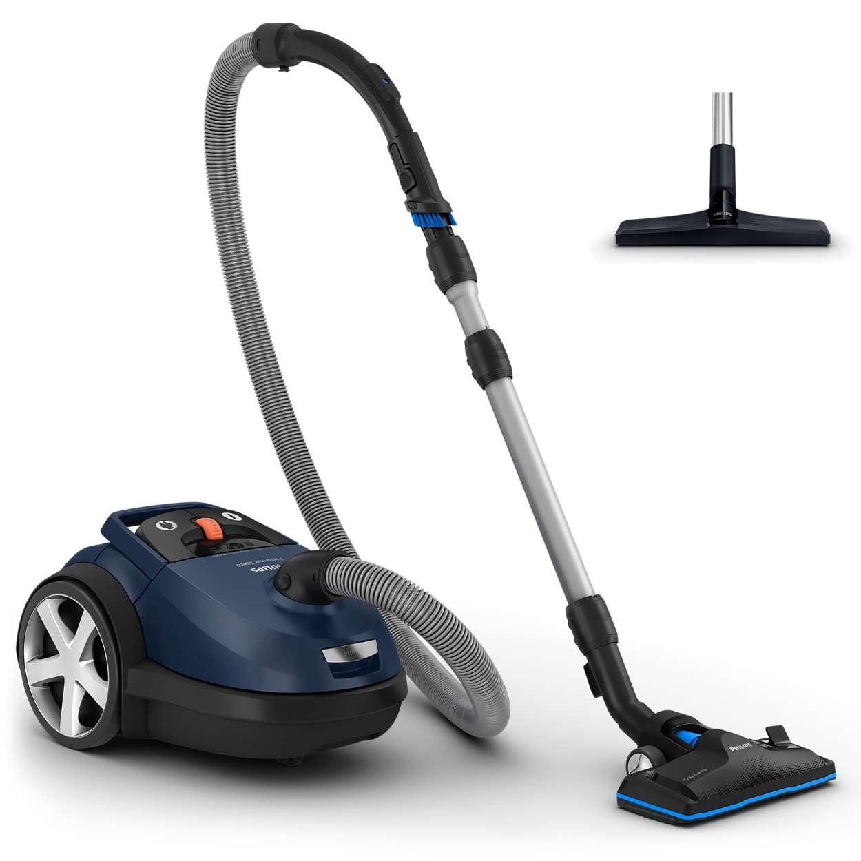 Philips - Performer Silent Vacuum Cleaner /w Bag FC8780/09