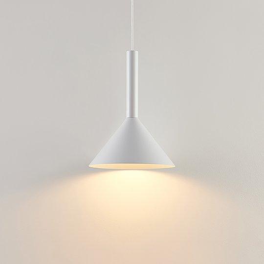 Arcchio Tadej -riippuvalo, 1-lamp. 30 cm, valk.