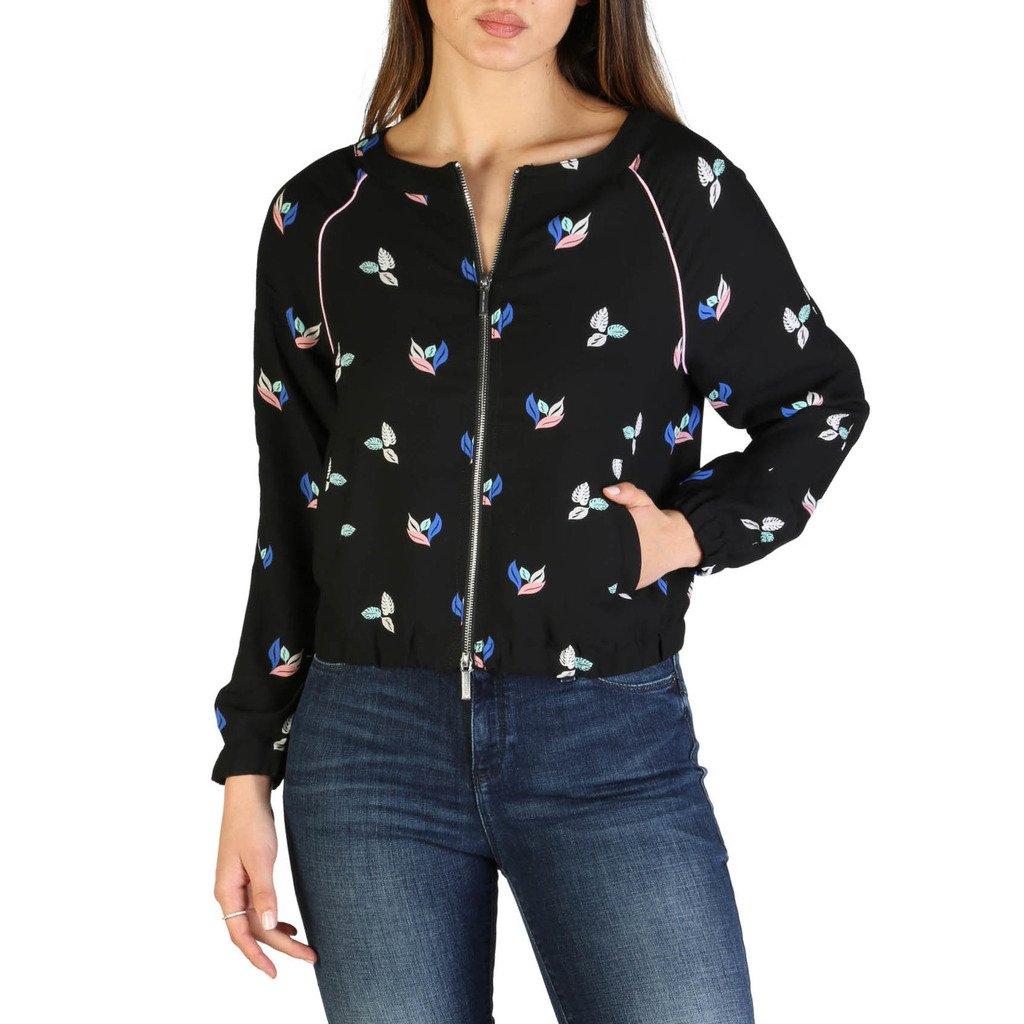 Armani Exchange Women's Jacket Black 3ZYB17_YNBDZ - black XL