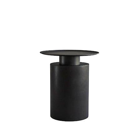 Pillar Sofabord Tall Burned Black