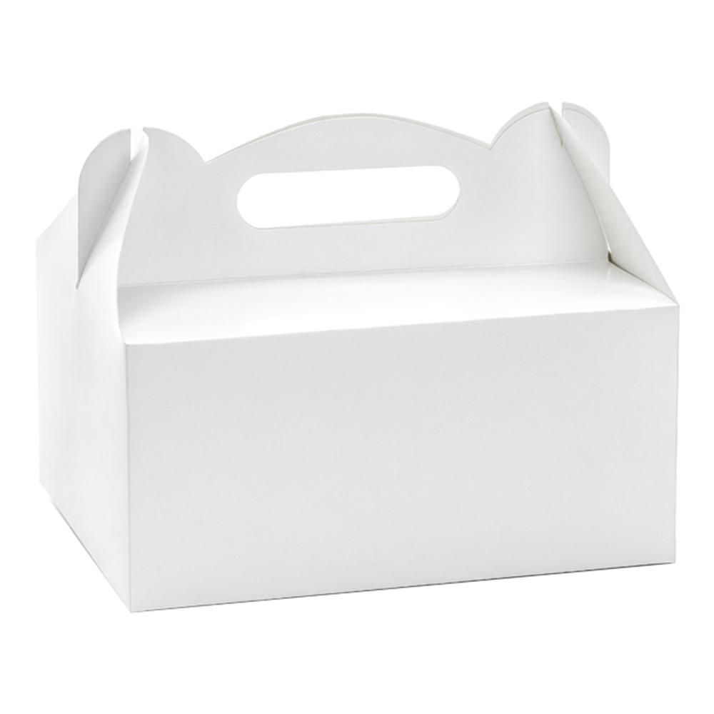 Tårtbox Vit - 10-pack
