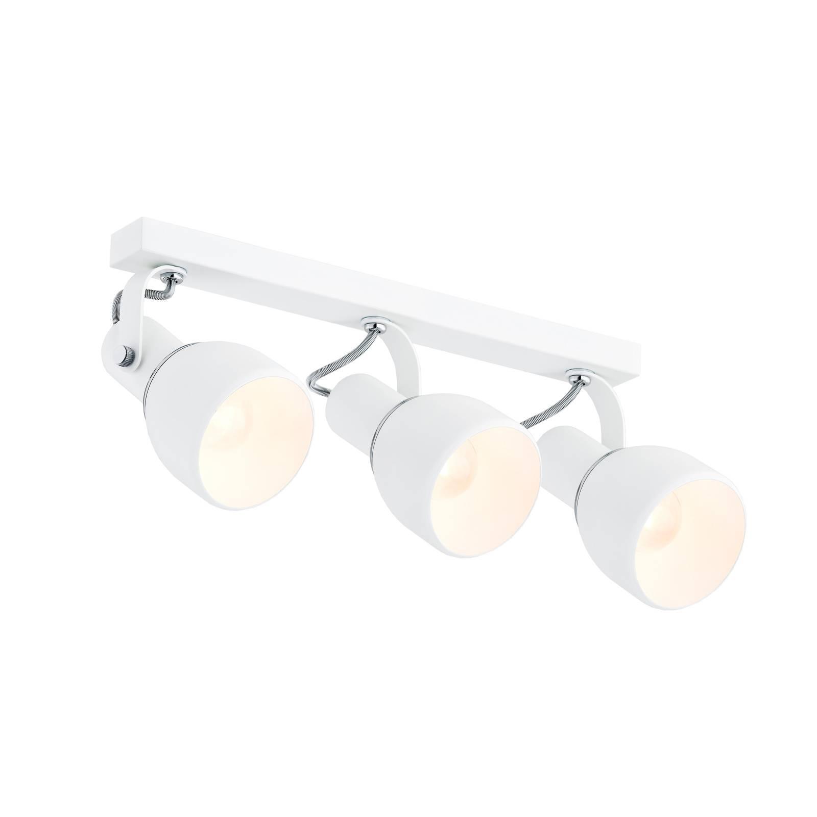 Kattokohdevalo Fiord, 3-lamppuinen, valkoinen