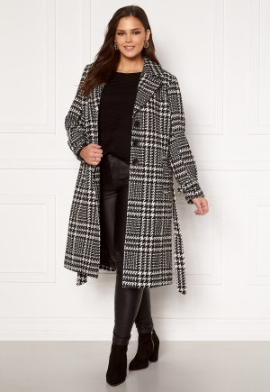 Only Carmakoma Fandanga LS Long Coat Black, AOP 46