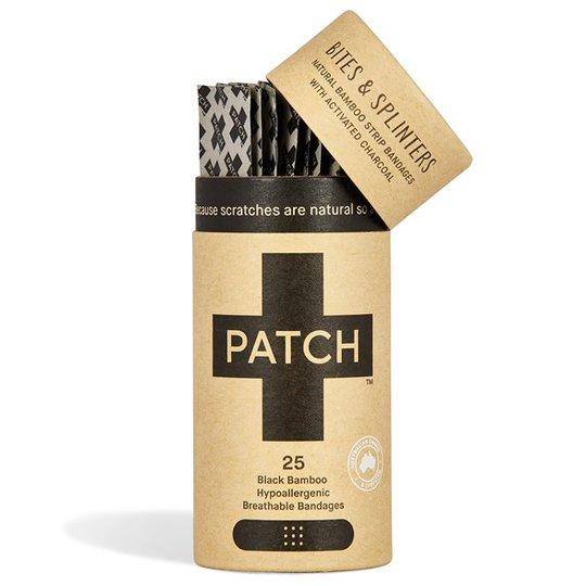Nutricare PATCH Plåster av ekologisk bambu - Aktivt kol, 25 st