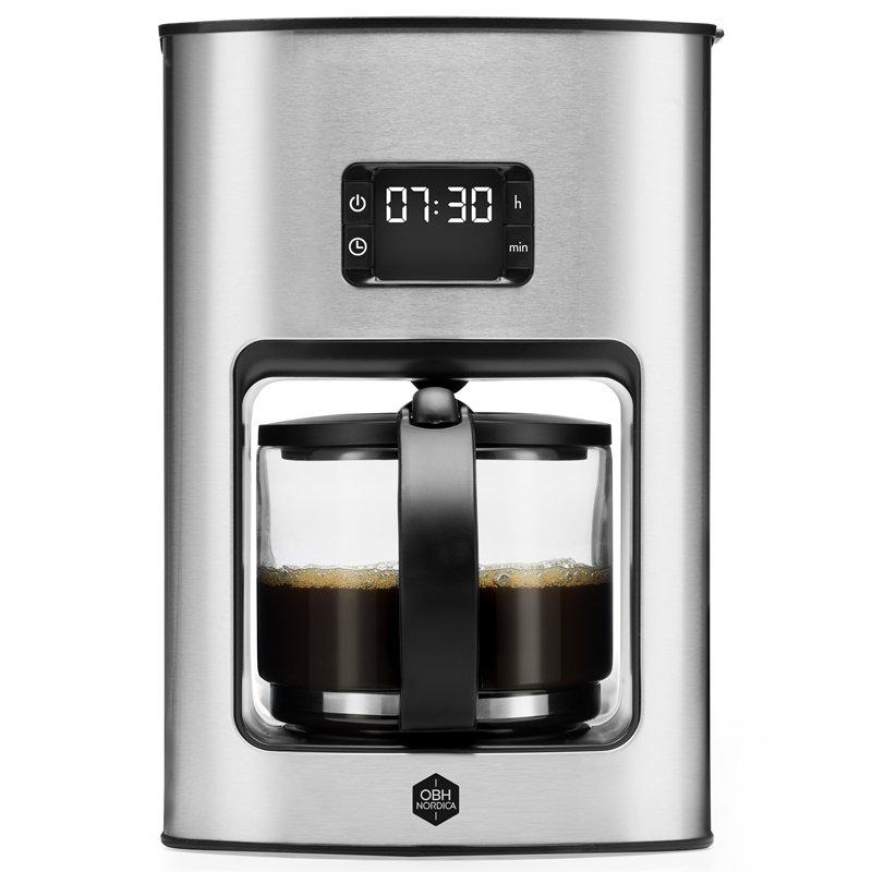 OBH Nordica - Vivace Tempo - Coffee Maker - Silver (2326)