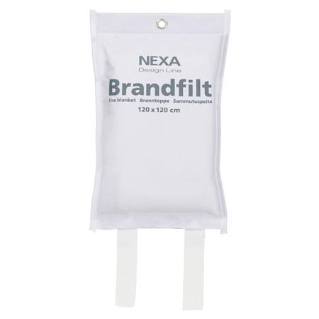 Nexa Fire & Safety FBD-101 Brandfilt Vit 120x120 cm