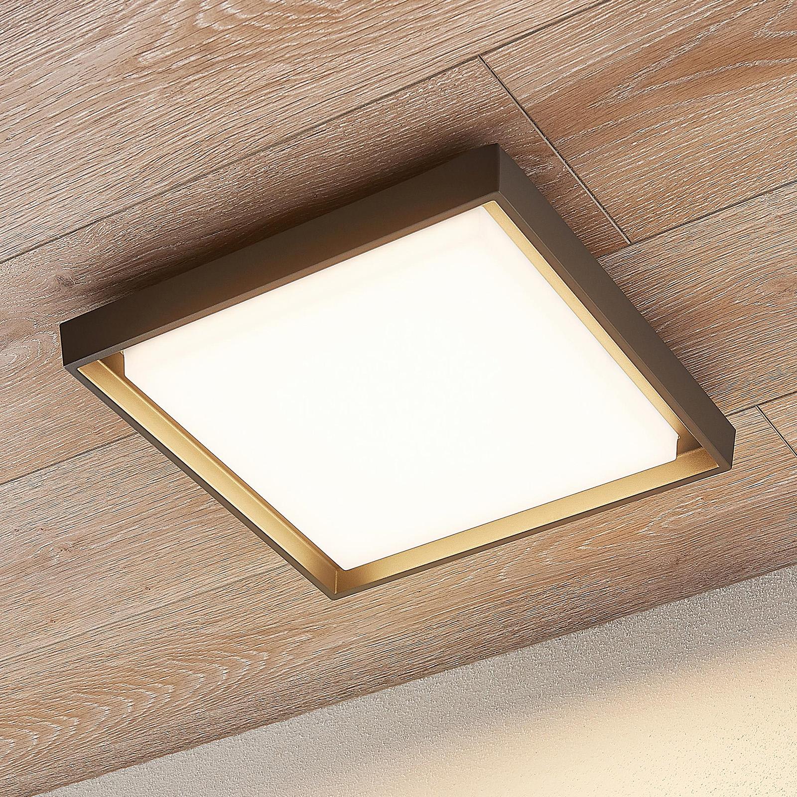 LED-ulkokattovalaisin Birta, kulmikas, 34 cm