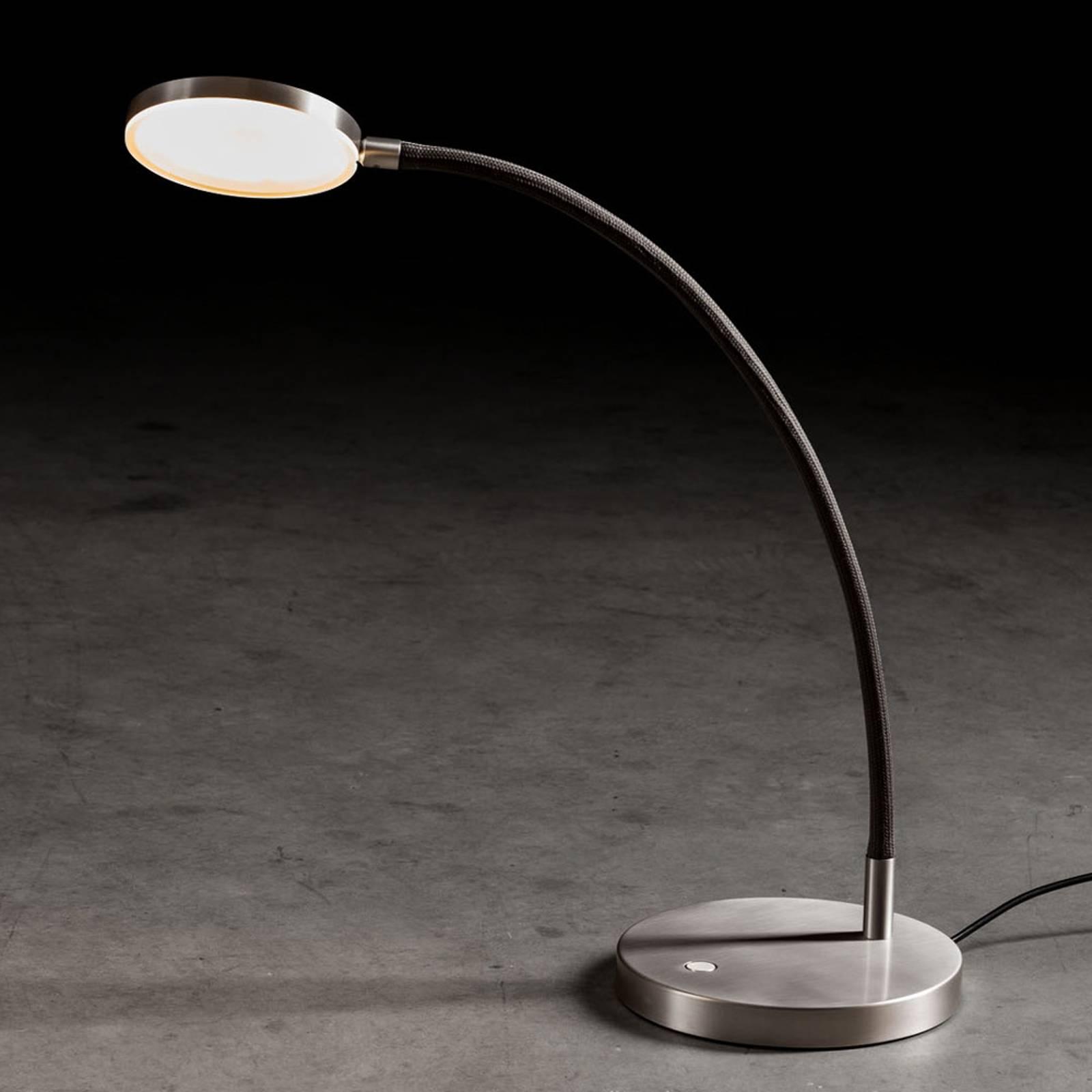 Holtkötter Flex T -LED-pöytälamppu, musta