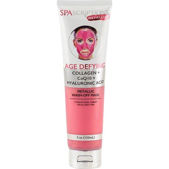Age Defying Metallic Wash-Off Mask, 150 ml Spascriptions Kasvonaamiot