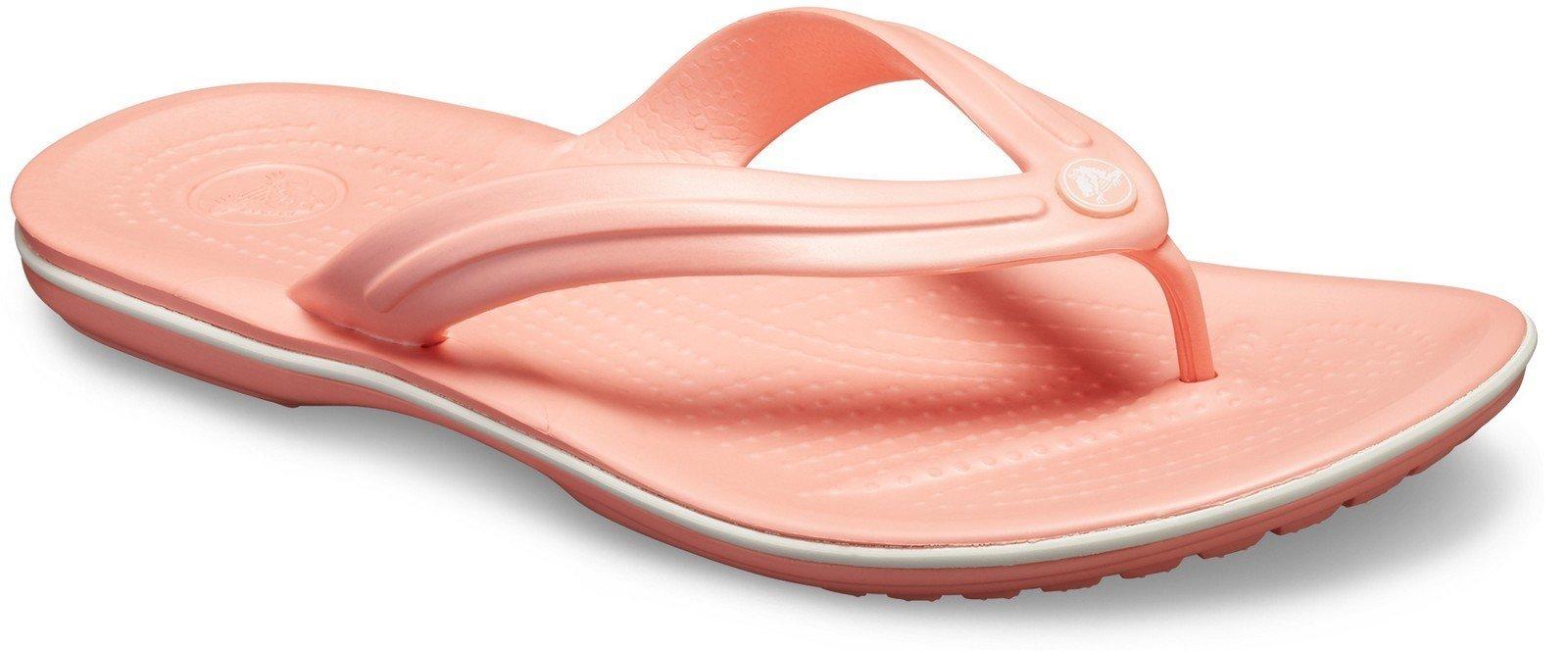Crocs Unisex Crocband Flip Flops Various Colours 21067 - Melon 3