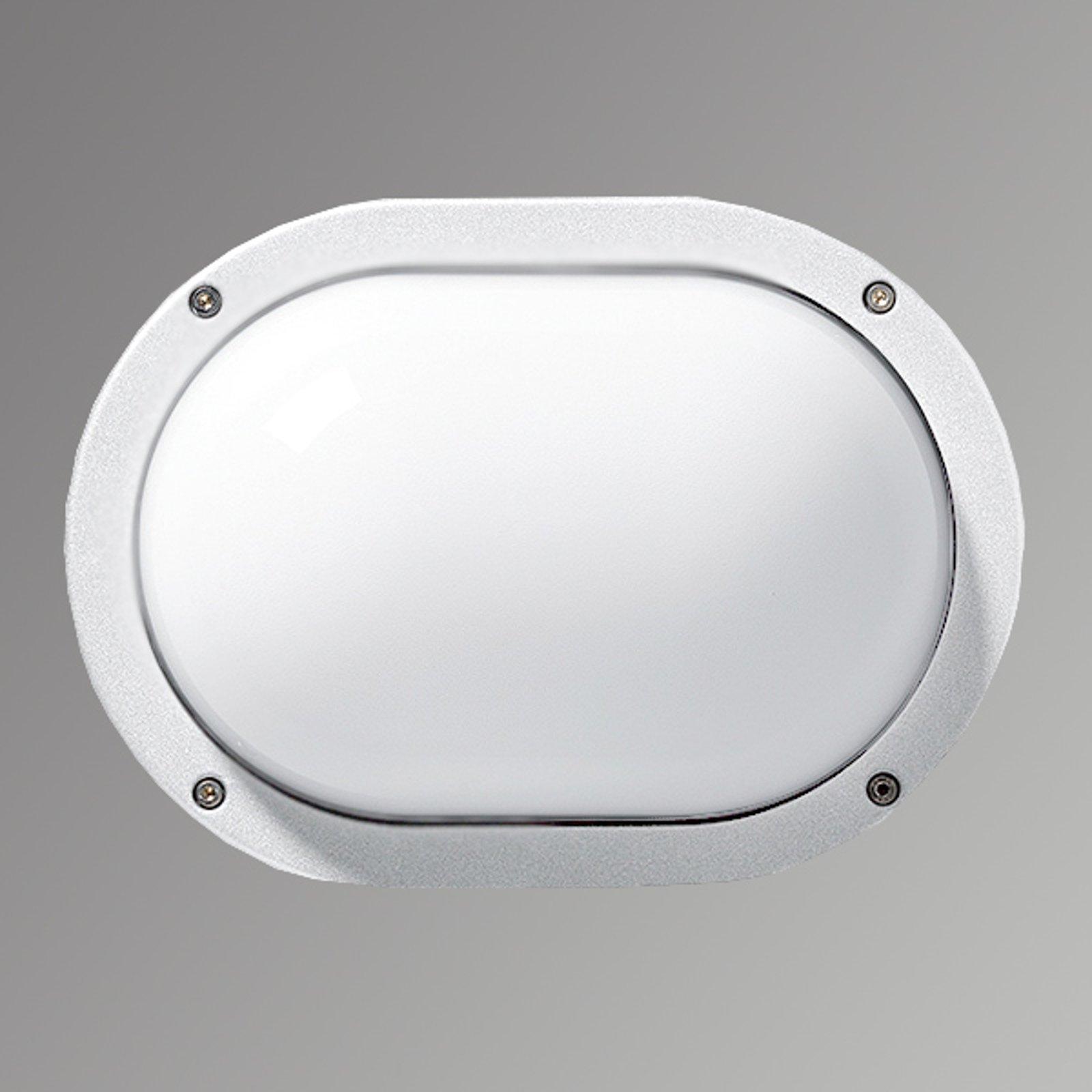 Praktisk EKO utendørs vegglampe i hvit