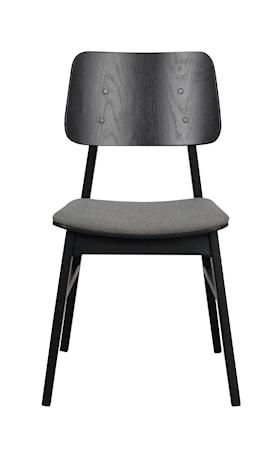Nagano stol ek/ljusgrått