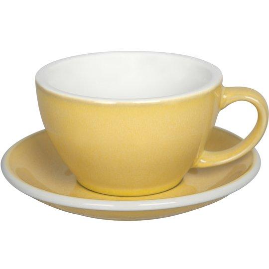 Loveramics Egg Café Lattekopp 300 ml, 6 st, Butter cup