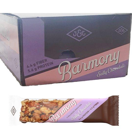 Hel låda Proteinbars Salty Chocolate 24-pack - 77% rabatt
