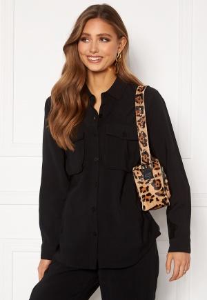 Happy Holly Maria woven shirt Black 36/38