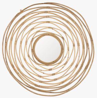 Spiral peili luonnonväri