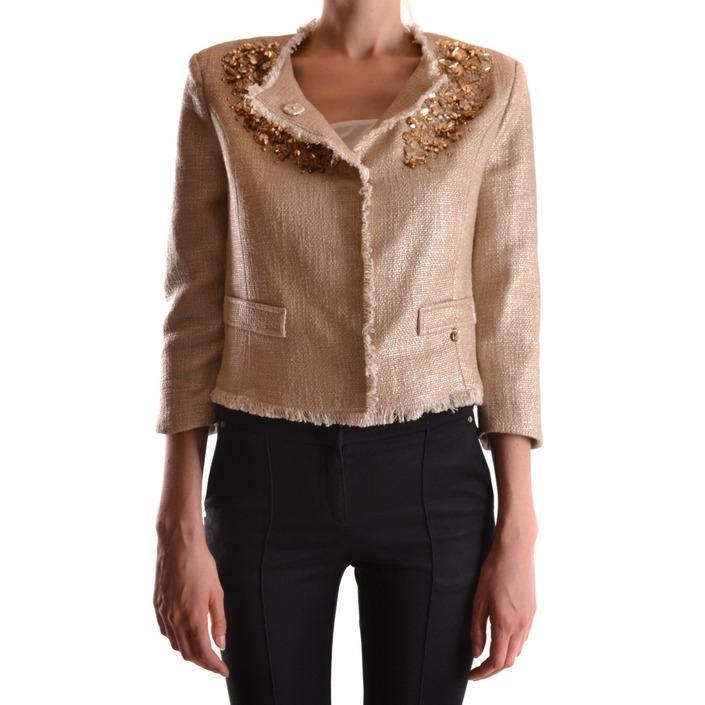 Elisabetta Franchi Women's Blazer Gold 161210 - gold 44