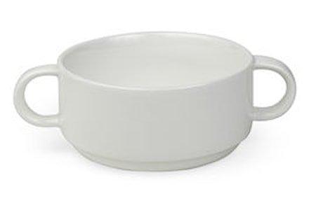 Suppeskål med håndtak