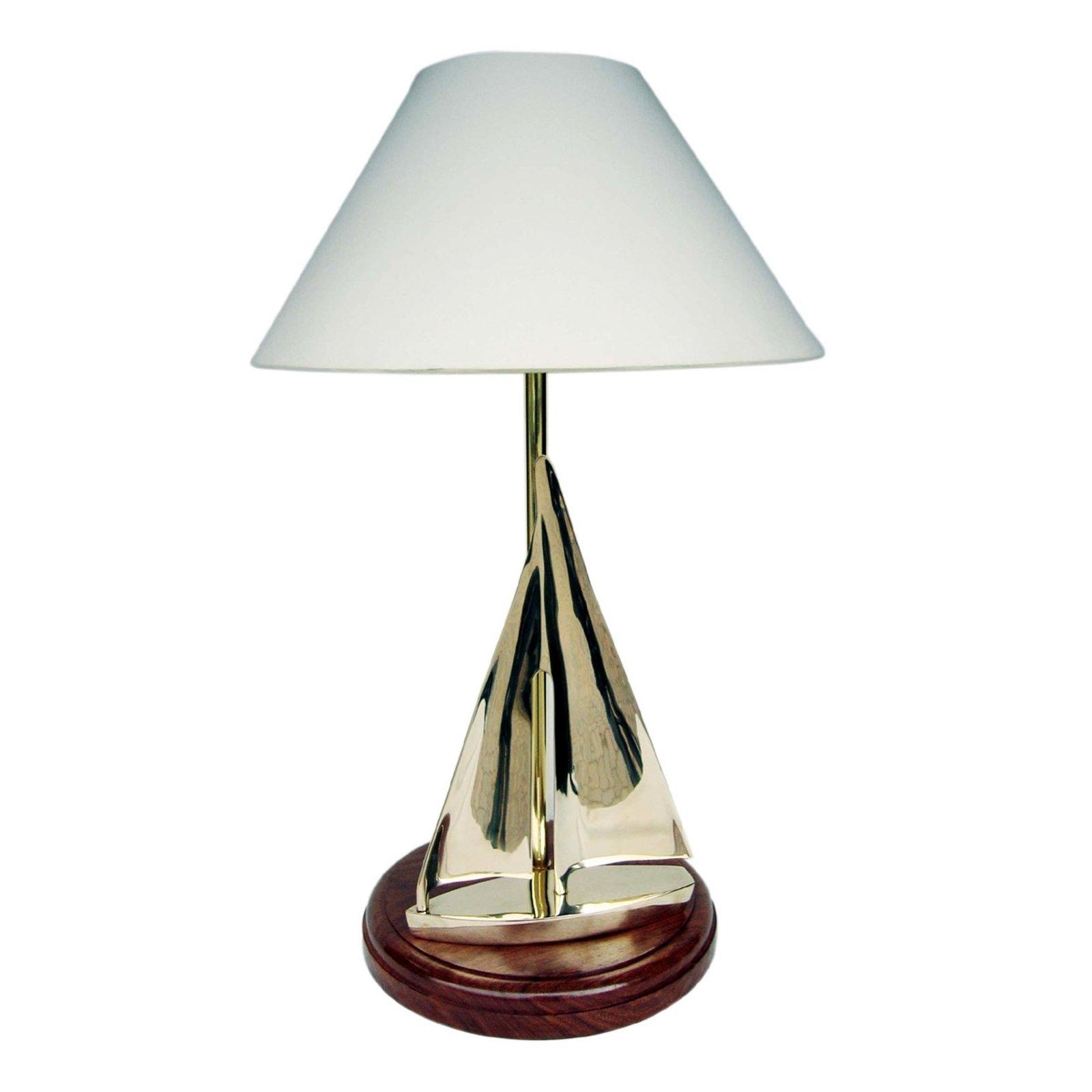 Iøynefallende bordlampe SAILING, 60 cm høy