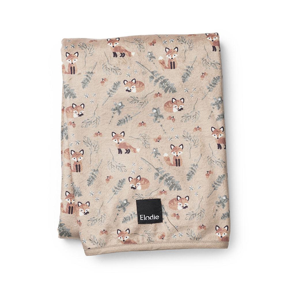 Pearl Velvet Blanket - Nordic Woodland