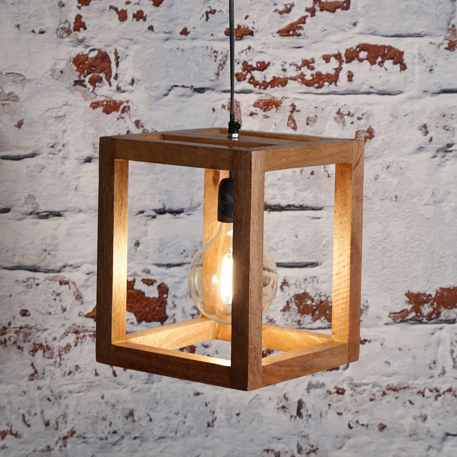 Riippuvalaisin Quadrasculpta 1-lamppuinen