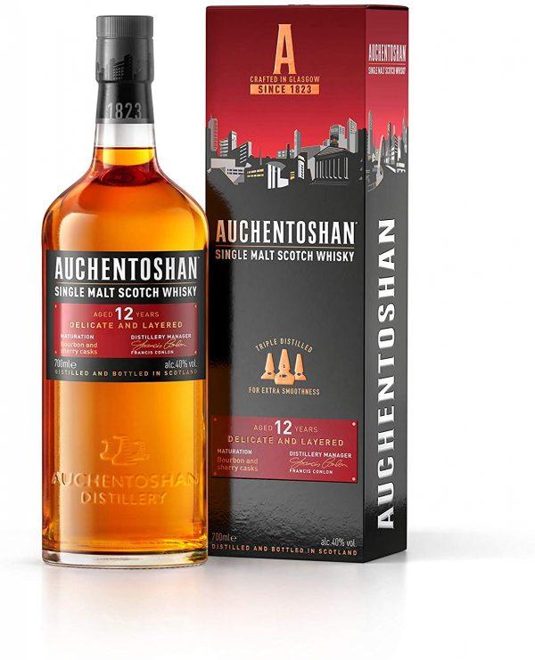 Auchentoshan 12 Years Old Single Malt Whisky 70cl