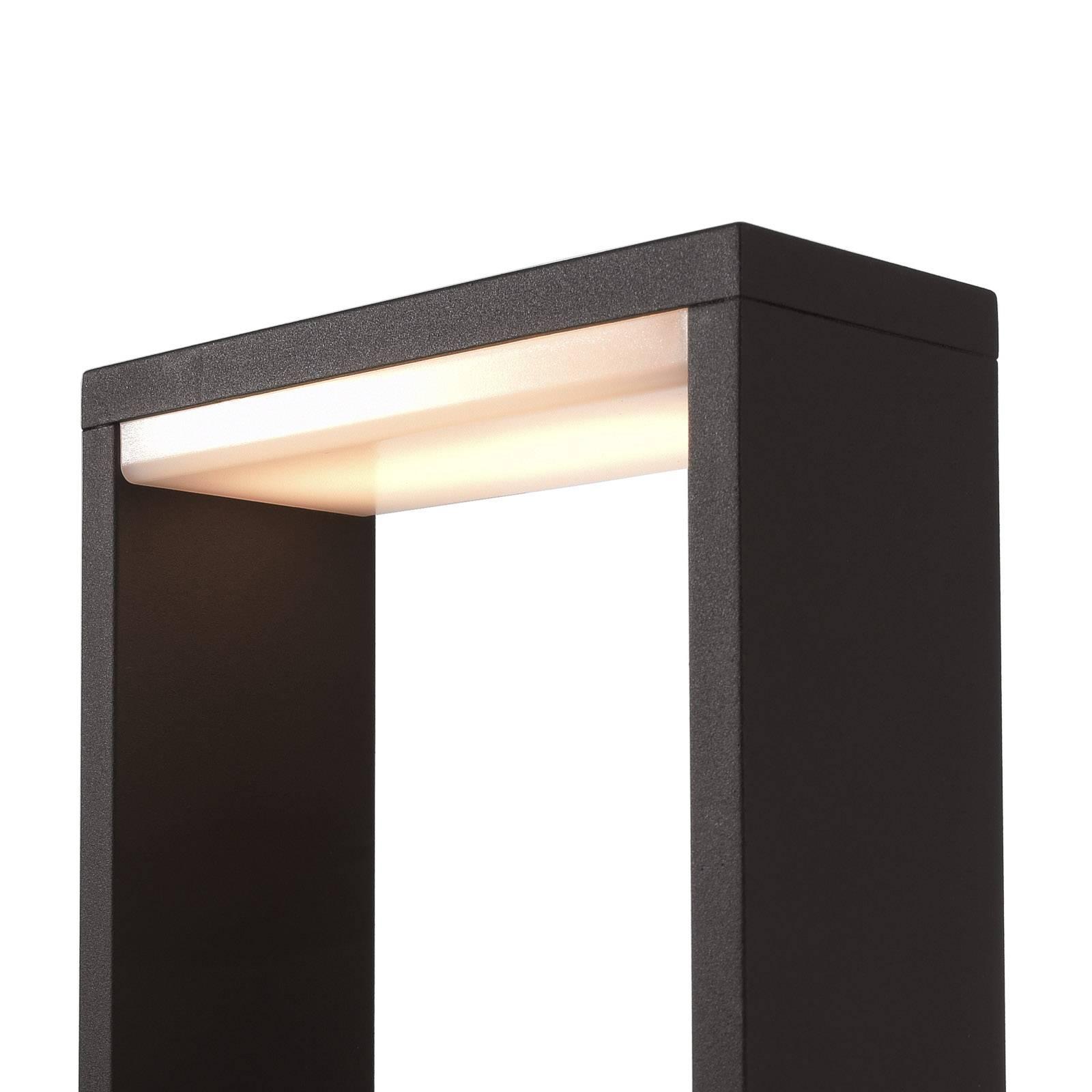 LED-pylväsvalaisin Cata IV, korkeus 70 cm