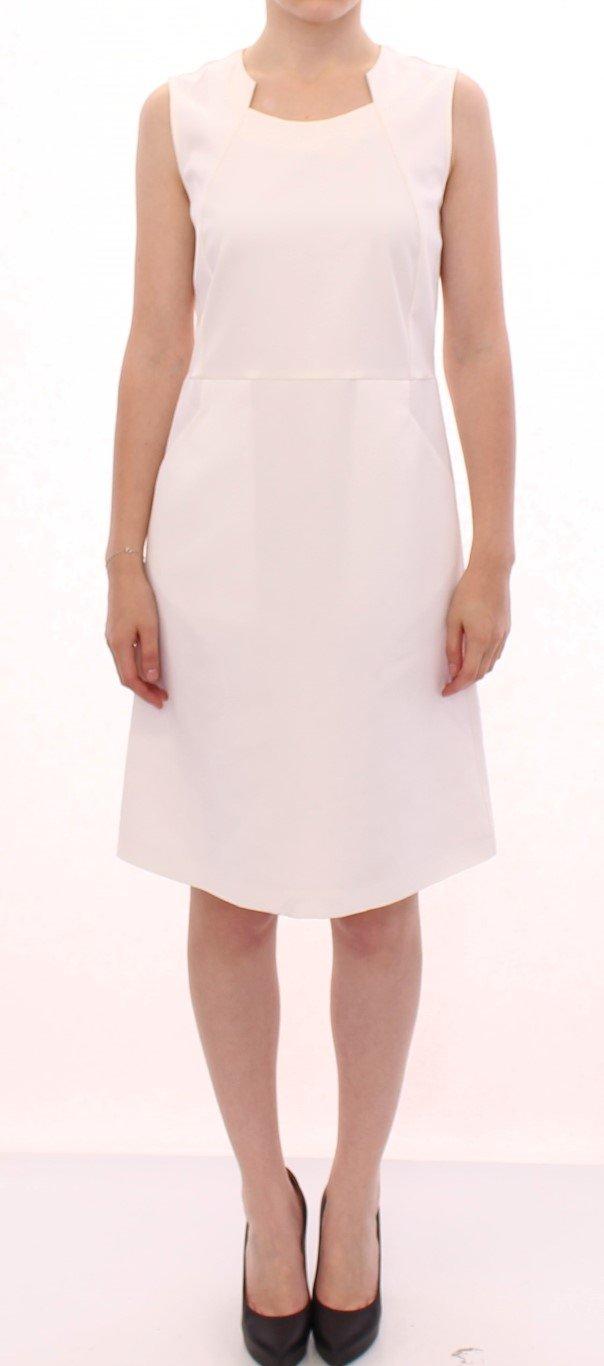 CO|TE Women's Cotton Sheath Dress White GSS10190 - IT42|M