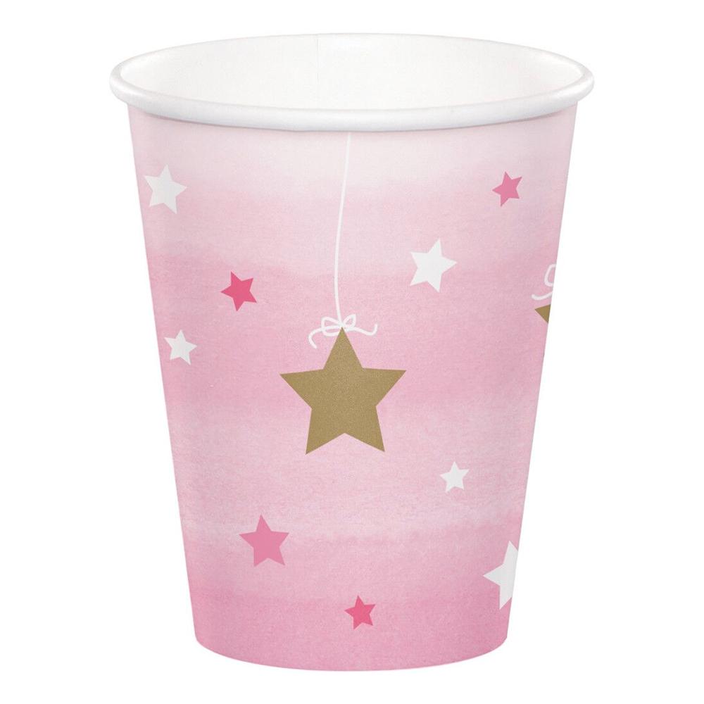 Pappersmuggar One Little Star Girl - 8-pack