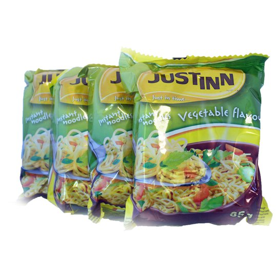 Nudlar 4-pack Vegetables - 80% rabatt