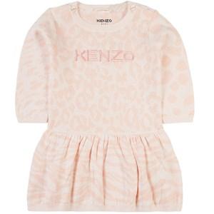 Kenzo Leopard Klänning Rosa 12 mån