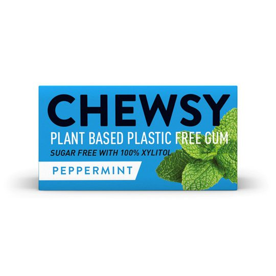 Chewsy Naturligt Tuggummi Pepparmynta, 15 g