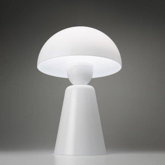 Bordlampe Star med dimmer, hvit