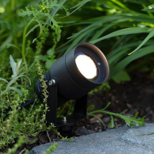 Garden 24 LED-spotlight, svart, 15 watt
