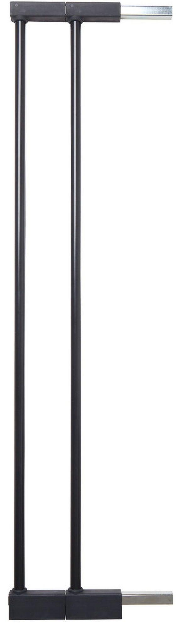 BabyDan Extend-A-Gate Turvaportin Jatkopalat 2 x 7cm, Musta