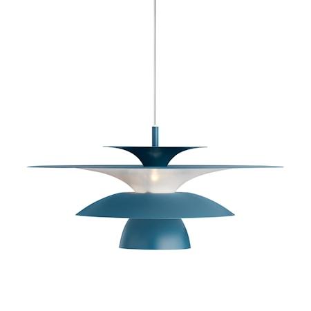 Picasso Pendel Duvblå LED 50 cm