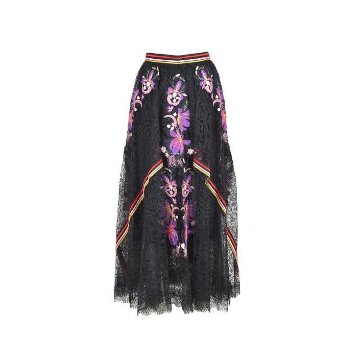 Ermanno Scervino Women's Skirt Black 216141 - black 44
