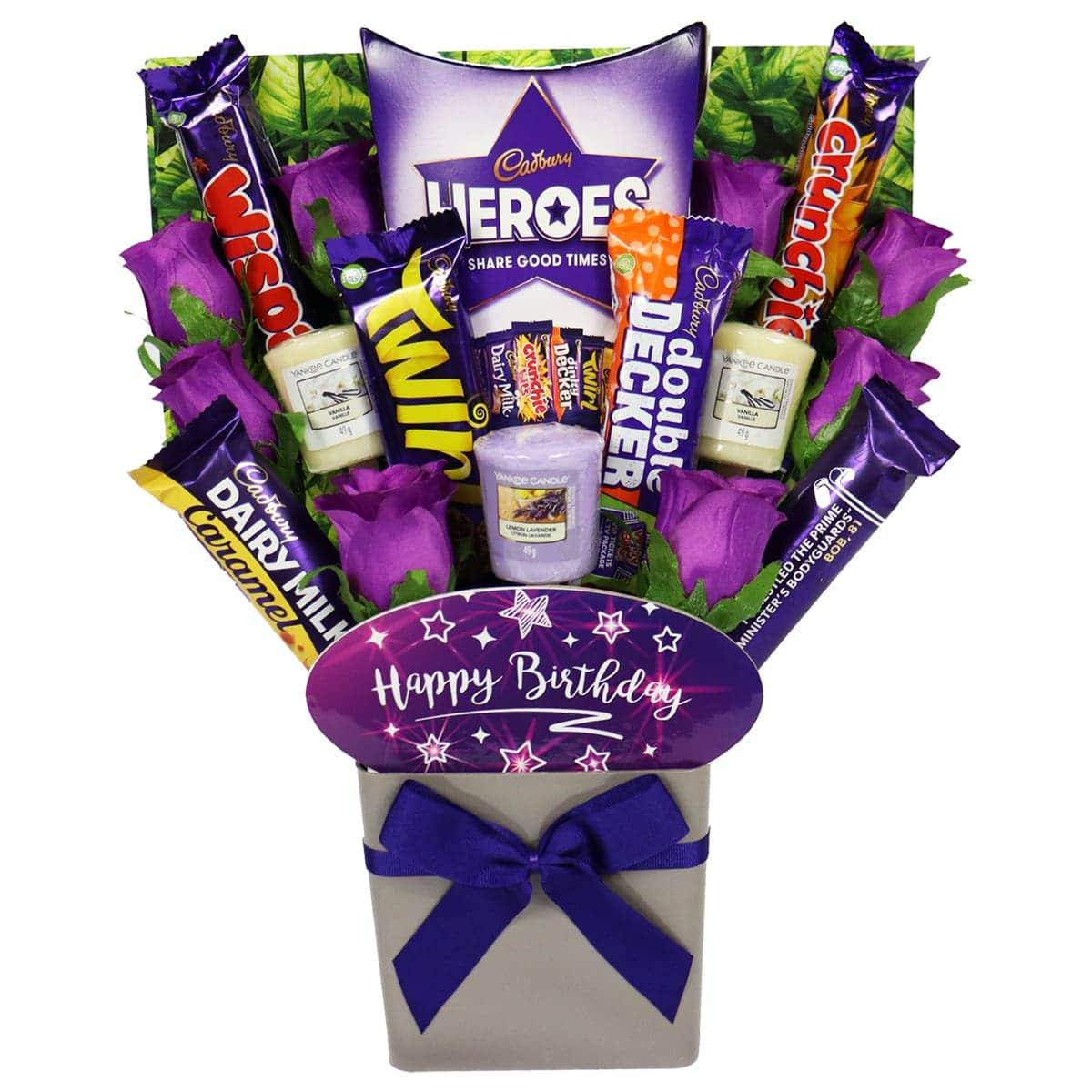 The Happy Birthday Yankee Candle & Cadbury Bouquet