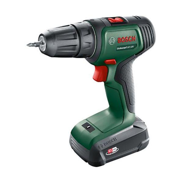 Bosch DIY Universal Drill 18 Porakone-ruuvinväännin sis. 1,5 Ah akun ja laturin
