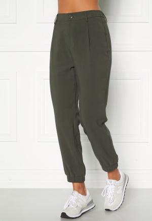 Happy Holly Maria woven pants Khaki green 48/50