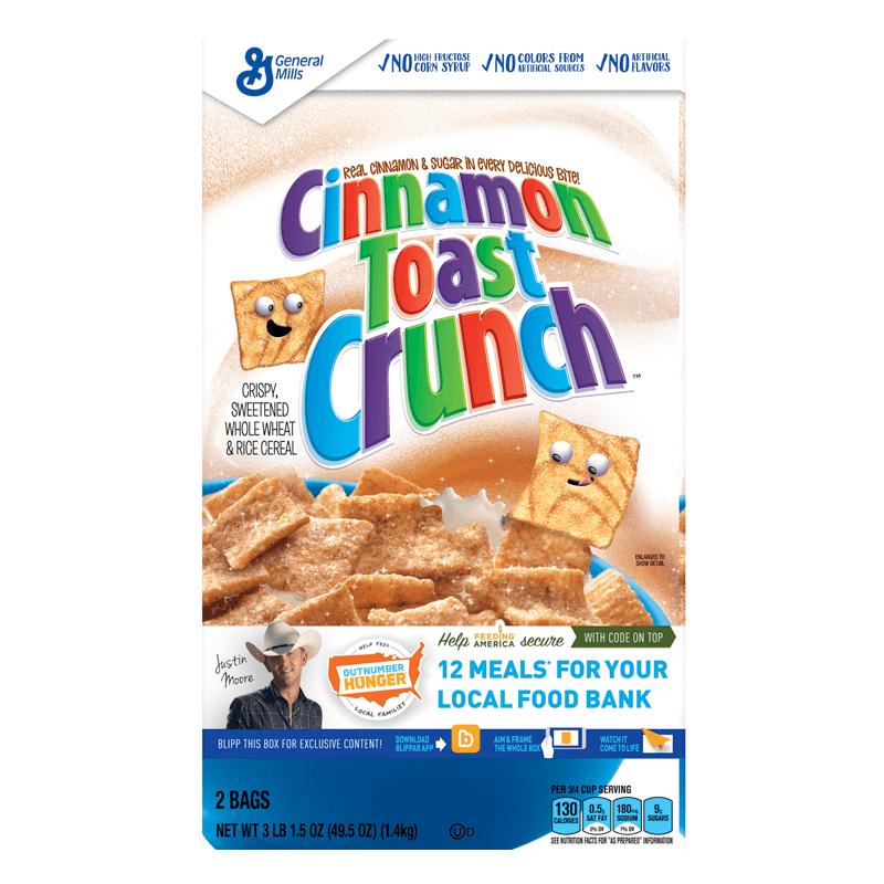 Cinnamon Toast Crunch GIANT Box 1.4kg