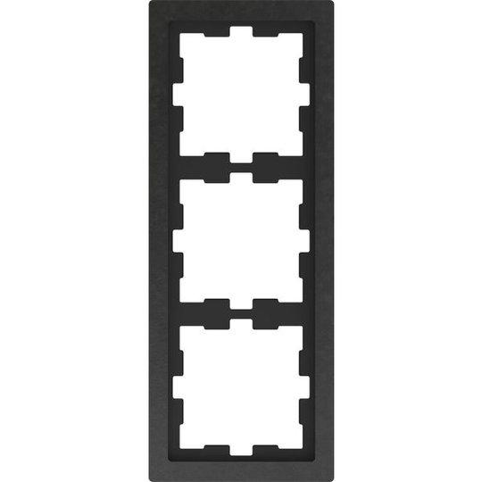 Schneider Electric MTN4030-6547 Yhdistelmäkehys 3 lokero, kivi, liuskekivi